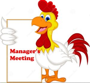 Managers Meeting